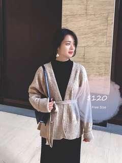 Knit top outer 冷衫 開胸 外套