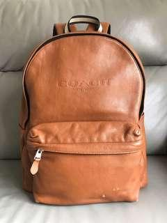 Coach Campus Backpack in Smooth Leather