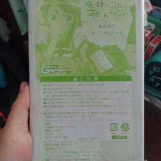 我的妹妹沒有這麼可愛 PSP 袋(可作普通袋使用) 電擊 非售品 Ivancheung