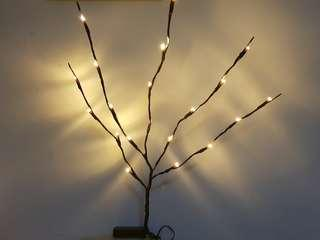 BATTERY OPPERATED 20 LED WILLOW TWIG BRANCH