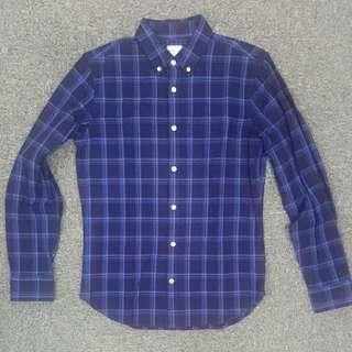 極低22折入手!罕有Gap x 美國高級rugged style品牌The Hill-Side深藍格仔恤衫