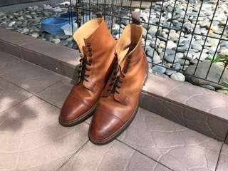 Peal & Co (made by Crockett and Jones) Coniston boot UK 10