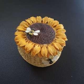 🌸 Tempat Perhiasan Lebah dan Bunga Matahari #bersihbersih