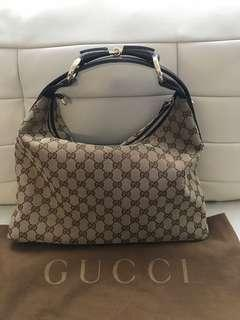 Authentic Gucci Horsebit Hobo Purse Limited Edition