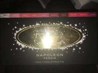 Napoleon Perdis take it on lip palette