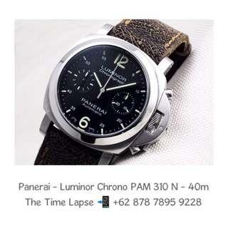 Panerai - Luminor Chronograph PAM 310 'N' - 40m