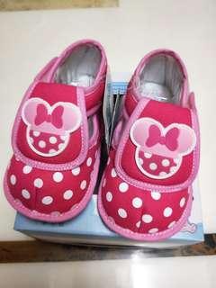 🚚 Disney baby 學步鞋 桃 賀生禮 過年新鞋