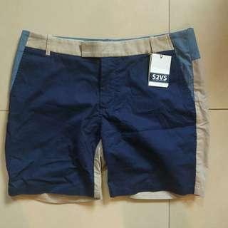 S2VS new york 拼色短褲(30)   stussy human made