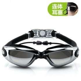 Kacamata renang sporty dengan tutup telinga