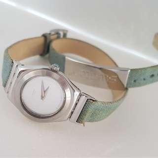 Rare Luxury SWATCH Designer Watch, Lady Irony Model, AG 2001, Made in Switzerland Avant-grade, Iconic, for Yuppies, Generation X, Art Décor, For Collector, Original, Authentic, Street fashion, Daily wear