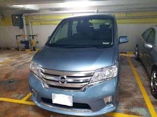日產 SERENA S-Hybrid 2014 少咪數