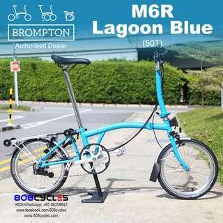 BROMPTON M6R Lagoon Blue