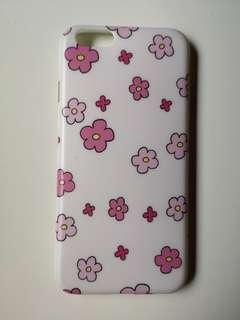 Iphone 6/6s casing pink flower