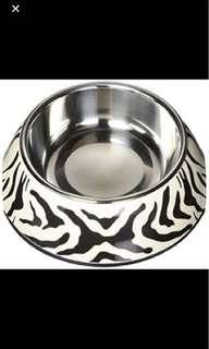 Promo!!!2 in 1 style cat/dog bowl w.ss insert