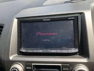 Pioneer 8750 double din head unit Bluetooth