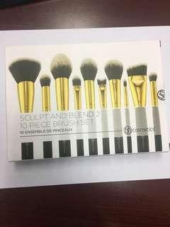 Bh Cosmetics Sculpt and Blend 2 Brushes
