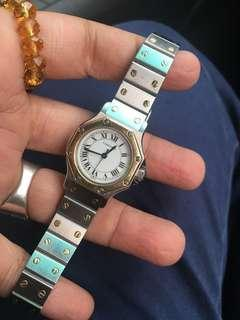 Cartier octagon ladies automatic
