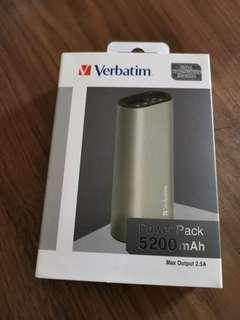 Verbatim 5200mAh Power Pack