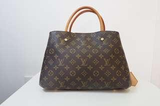 Authentic Louis Vuitton Monogram Montaigne