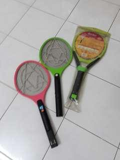Electric Mosquito Swatter Insect killer (3 units 2 used 1 new but probably not workin)