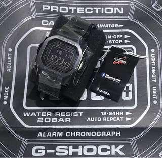 Authentic G-Shock GMW B5000 Black
