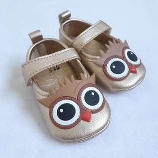 BABY SHOES Golden Owl 06 - 12 Months