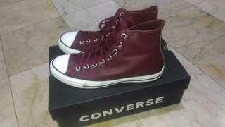 Converse CT All Star Hi Maroon Leather