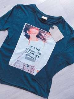 Zara L/s girl t shirt