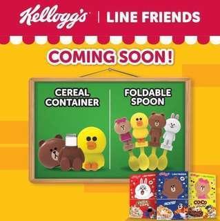 limited stocks: Kellogg's line friends foldable spoon