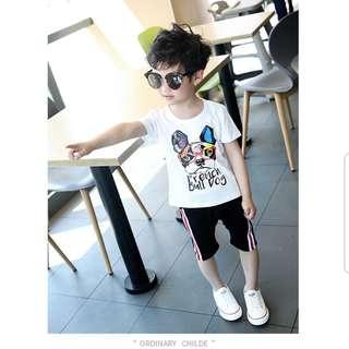🚚 韓版幼童短袖上衣