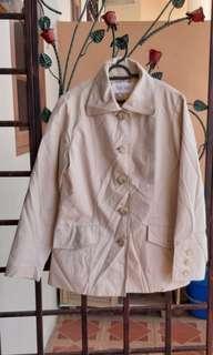 Beige Jacket Blazer Coat