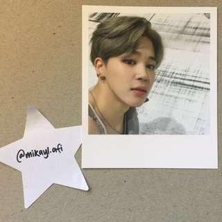 BTS (방탄소년단) JIMIN WINGS PHOTOCARD