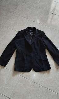 Black Blazer Jacket Coat