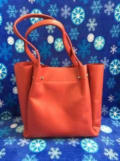 Zara Red Shoulder Bag
