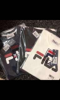 Fila unisex logo tshirt ( 3 colours )