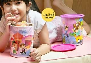 TUPPERWARE PAKET 2 SET ( 4pc ) DUG2 CANISTER