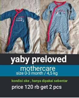 Sleepsuit mothercare