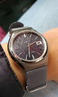 罕有Citizen Crystron Quartz 8630, 超靚面, 非常特別,已換新電, 行走良好(grand seiko omega casio omega)