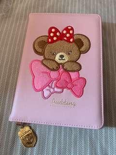 Disney pudding bear schedule book