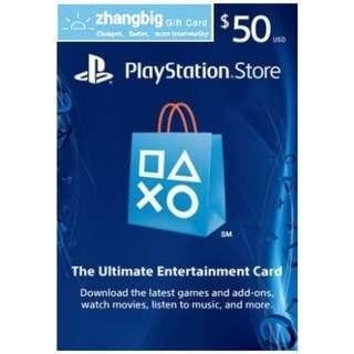 PSN US Gift Card USD50