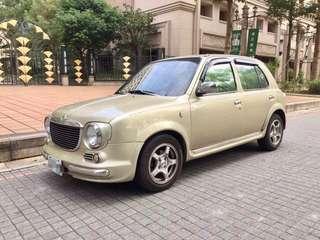 06年Verita復古造型March可愛小車,可分期輕鬆擁有
