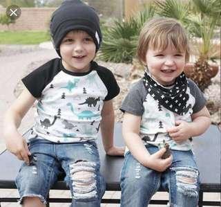 Mencari shirt n jeans untuk budak lelaki berusia 2-3 tahun dan 6-7 tahun.. lau boleh nak pattern sama..