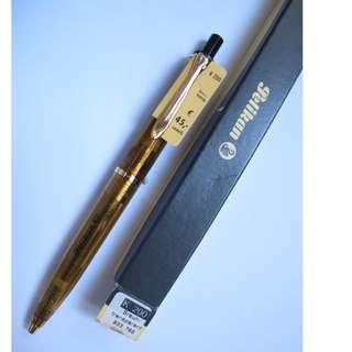 "Vintage Pelikan Tradition K200 –Brown Transparent Demonstrator Ballpoint Pen ~ 鵝仔 K200 透明 ""Demonstrator"" 原子筆"