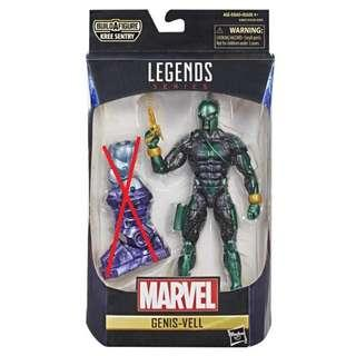 """[PO] Marvel Legends Genis-Vell (No BAF) """"Captain Marvel"""""""