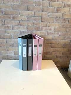 Popular Grey and Pink Ring Files