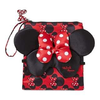 🚨SOLD OUT IN USA🚨[Juniorcloset] FREE MAIL! 🆕️ authentic Minnie Mouse padded eye mask + pouch