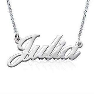 **Till 19 Jan ONLY**2 for $32**Custom Name pendant Necklace*