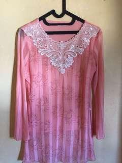 📌SALE blouse peach