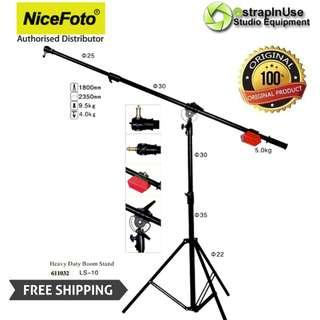 NICEFOTO EXTRA HEAVY DUTY BOOM STAND ARM LS-10