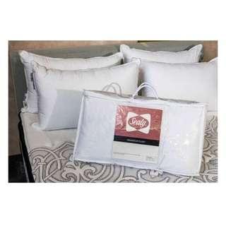 Sealy Grandeur Plush Pillow bed pillows hotel posturepedic standard